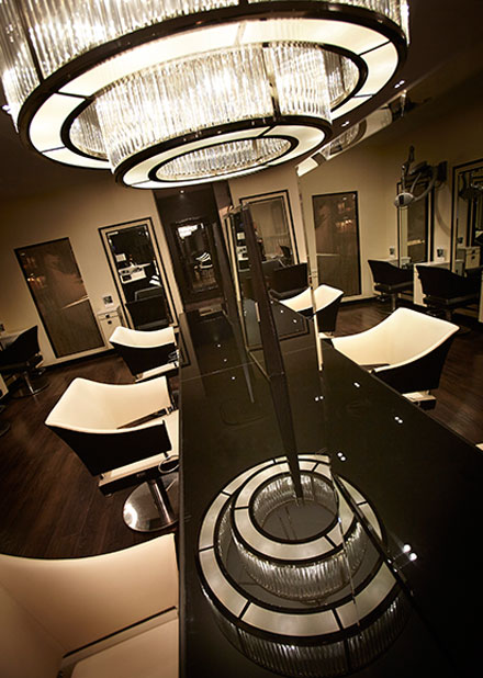 INSIDE THE SALONS
