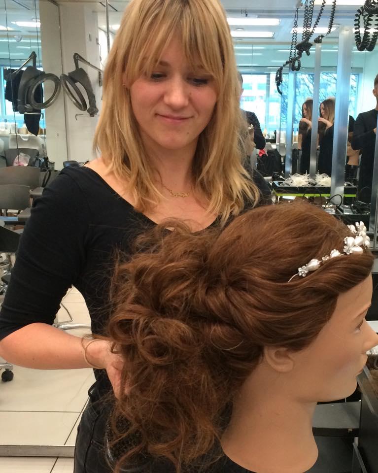 ROYSTON BLYTHE RUNS BRIDAL HAIR SEMINAR FOR L'OREAL
