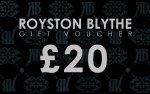£20.00 Monetary Voucher