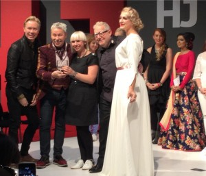 Judges at British Hairdressing Bridal Hairdresser of The Year Awards