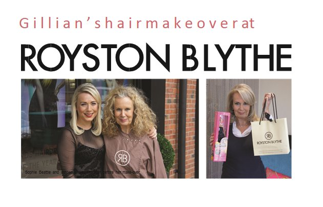 Gillians Hair Makeover at Royston Blythe Wolverhampton
