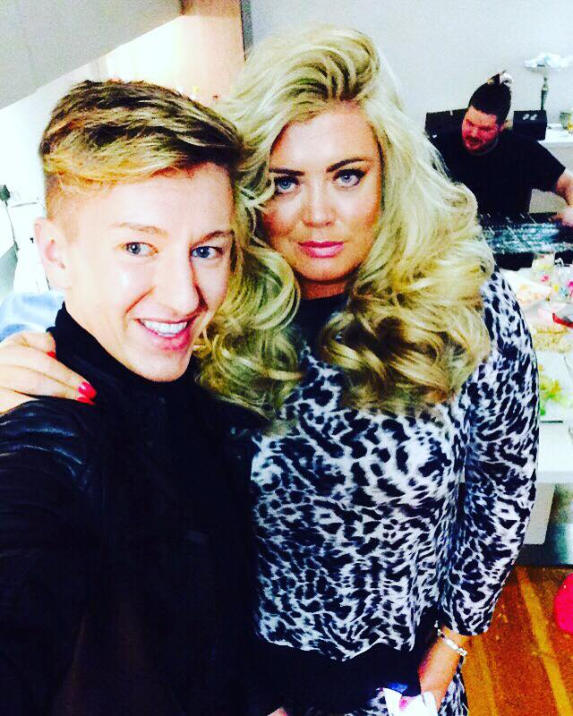 nick and gemma collins royston blythe hairdressers