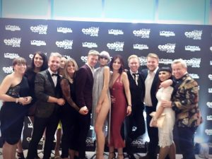 L'oreal Colour Trophy WInners