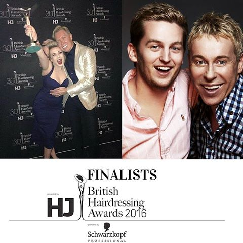 British Hairdressing Awards Finalists 2016