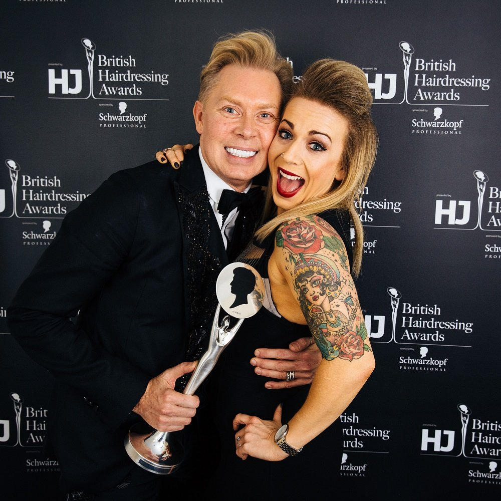 ROYSTON BLYTHE SCOOP 3rd BRITISH HAIRDRESSING AWARD