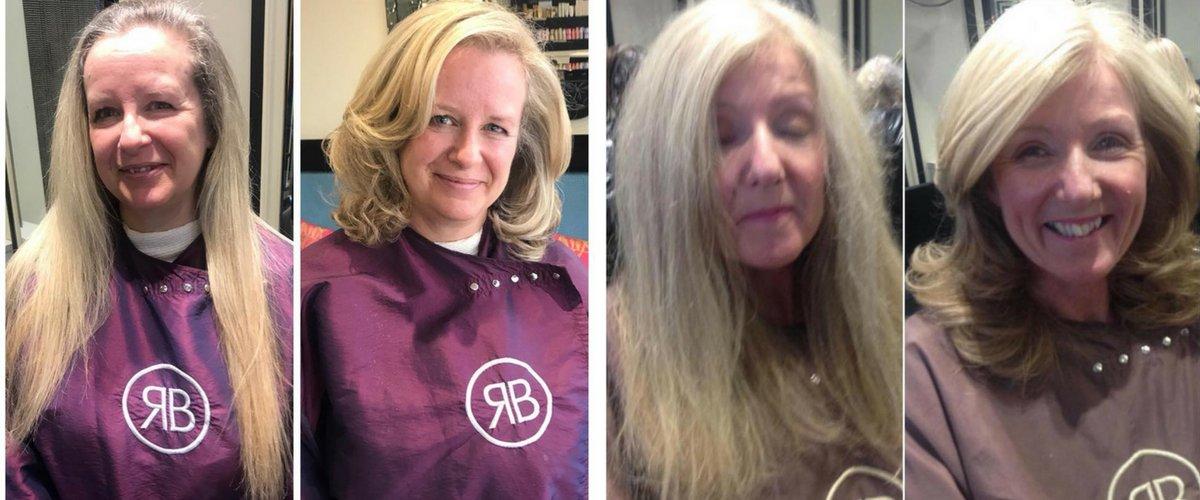 Hair Transformations at Royston Blythe