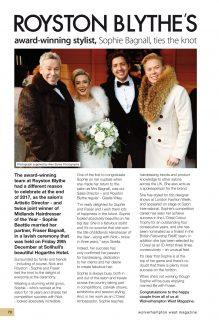 SOPHIE & FRASER ENJOY LAVISH WEDDING