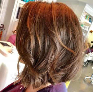 Bob hair transformation Royston Blythe Hair Salon Shrewsbury