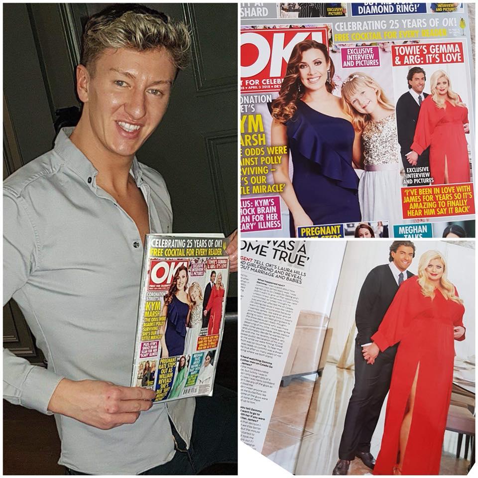 Nicholas Tucker, Royston Blythe features in OK Mag
