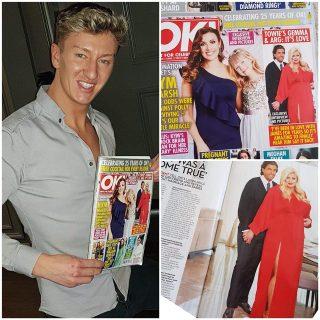 Celebrity Shoot In OK Magazine