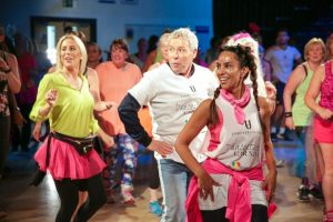 REAL HOUSEWIVES DANCEATHON ROYSTON AND NICK