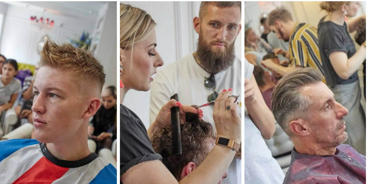 Mens Hairdressing At Royston Blythe