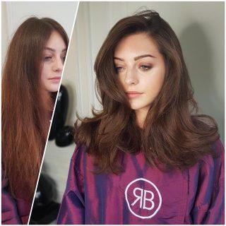 Autumn Inspiration:  Hairstyle Transformation