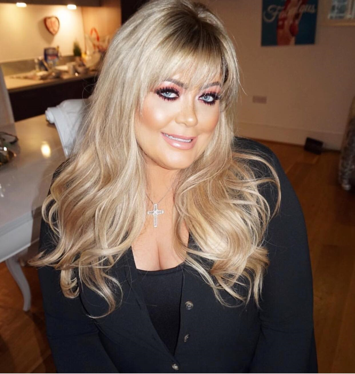 Gemma Collins Has Beautiful New Hair Extensions For Dancing On Ice
