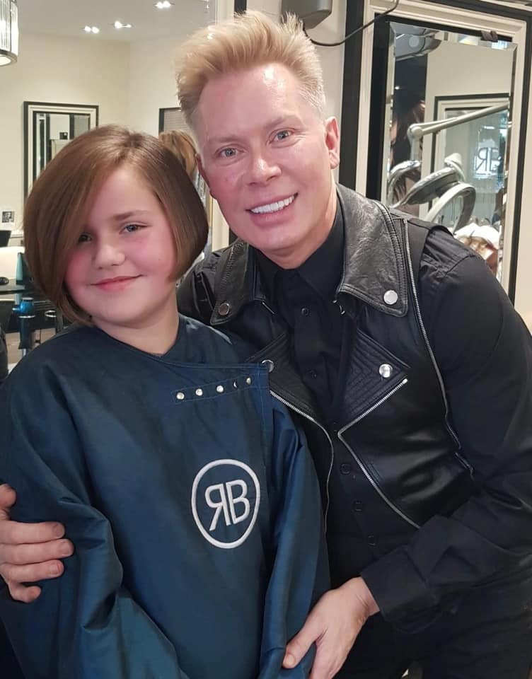 Lucy Bobs It & Donates Hair To Charity