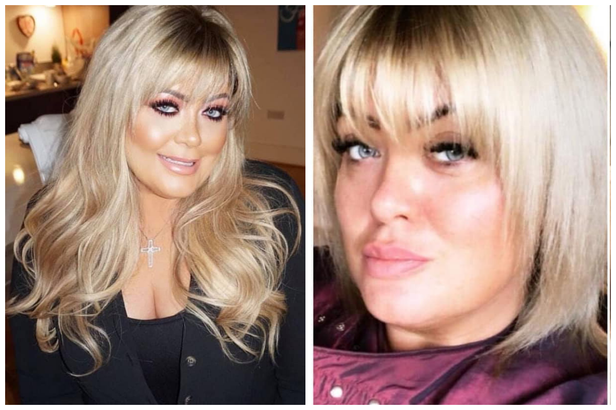 Gemma Collins Hair Extensions Hairdressers