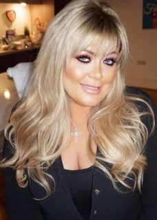 Gemma Collins Gives Royston Blythe Hair Extensions Her Vote