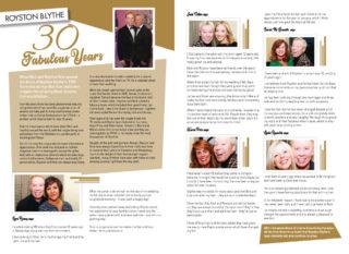 30 Fabulous Years of Royston Blythe