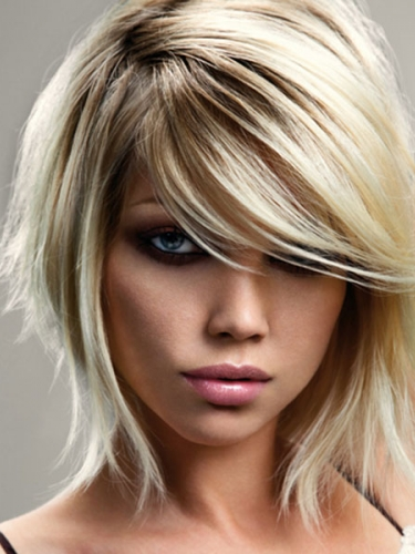platinum iconic bob hairstyle by Royston Blythe