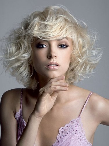 blonde effortless bob by royston blythe