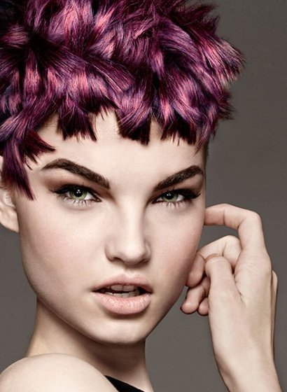 violet pixie hairstyles at Royston Blythe
